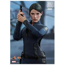 Figura Avengers Age Of Ultron Movie Masterpiece Action Figure 1/6 Maria Hill Toy Fair Exclusive 2015 29 Cm