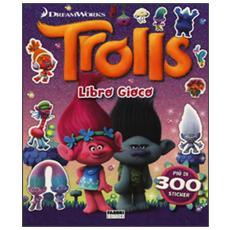 Trolls. Libro gioco. Con adesivi