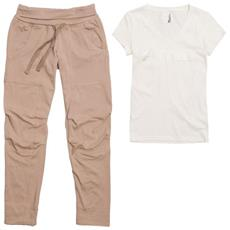Completo Donna Luxe Pack 28 Beige Bianco Xs