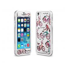 Cover Custodia Per Smartphone Cushi Plus Original-Iphone 5/5s-Bike