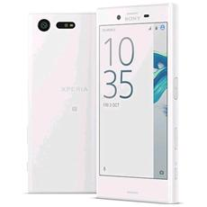"""Xperia X Compact Bianco 32 GB 4G/LTE Display 4.6"""" HD Slot Micro SD Fotocamera 23 Mpx Android Europa"""