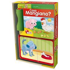 Cosa Mangiano? (Primi Libri Gioco Didattici)