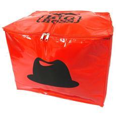 stoccaggio torace morbido 'moustache' red (mr big boss) - [ l8933]