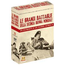 Battaglie Della Seconda Guerra Mondiale In Europa E Nord Africa (Le) (4 Dvd)