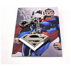 Superman Metal Key Ring Logo
