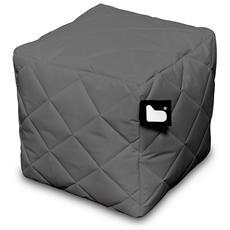 Pouf Outdoor B-box Grey Trapuntato