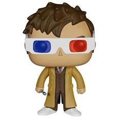 Doctor Who Pop! Television Vinyl Figure 10th Doctor 3-d Specs Limited Edition - 9 Cm