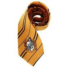 Replica Cravatta Della Casa Tassorosso Di Harry Potter Taglia Unica