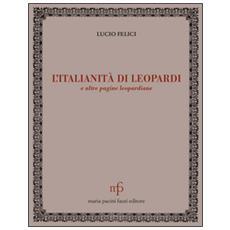 L'italianità di Leopardi e altre pagine leopardiane