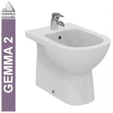 Bidet A Pavimento Btw, ceramica Dolomite, Serie Gemma 2, J523501