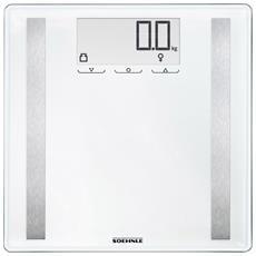 Bilancia Pesapersone Digitale 180 kg Colore Bianco