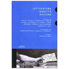 Letteratura, identità, nazione
