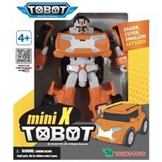 Robot Tobot Mini W Macchina Trasformabile Auto Giocattolo Bambino Arancione