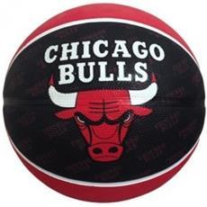 2015 Nba Team Size 7 Rubber Basketball - Bulls Rubber