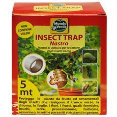 Nastro Cattura Insetti Bi-adesivo - 'insect Trap' - Cm 5 X 5 Mt