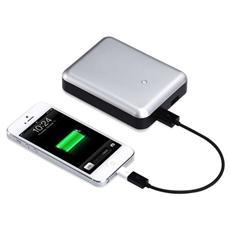 Power Bank Gum Max Duo Batteria Esterna 11200 mAh - Argento