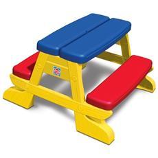 Tavolo pic nic in plastica giogo per bambini banco arredo da giardino esterno