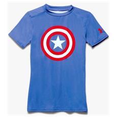 T-shirt Bambino Ua Alter Ego Basela M Blu Bianco