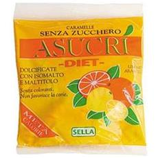 Asucri Caramella Arancia Limone 40g Sella