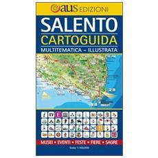 Salento, cartoguida. Mappa multi-tematica illustrata