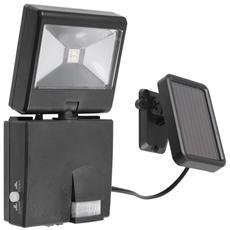LED-COSMO / S-FV - Proiettore led orientabile con sensore e pannello solare