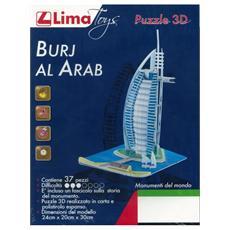 Puzzle 3D Burj al Arab 37 pz 24 x 20 x 30cm 06189