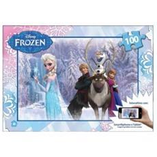 Puzzle Interattivo Frozen 100 Pz