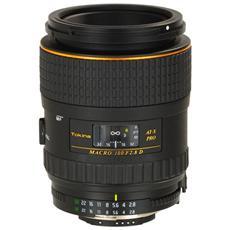 Obiettivo At-x M100 Pro D 100mm F / 2.8 Macro Per Nikon