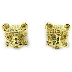 orecchinis 'lady tiger' d'oro - [ l7985]