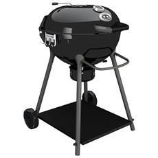 Barbecue A Carbonella Outdoorchef Mod. Kensington 570 C Colore Nero