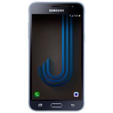 """Galaxy J3 (2016) Nero Dual Sim Display 5"""" HD Quad Core Ram 1.5GB Storage 8GB +Slot MicroSD WiFi 4G / LTE Doppia Fotocamera 8Mpx / 5Mpx Android 5.1 - Italia RICONDIZIONATO"""