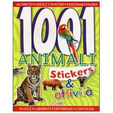 1001 animali. Stickers & attivit�
