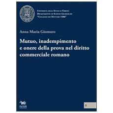 Mutuo, inadempimento e onere della prova nel diritto commerciale romano