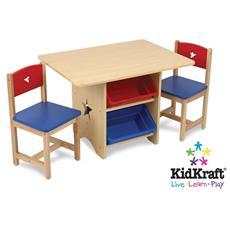 Legno Star Table & 2 Chr Set 77x57x50 Seat: 28 H 26912