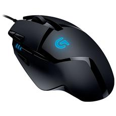 Mouse Gaming G402 Hyperion Fury 8 Tasti 4000 DPI Colore Nero