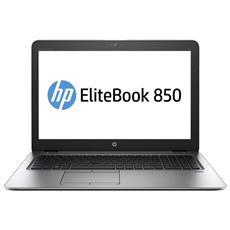 """Notebook EliteBook 850 G4 Monitor 15.6"""" Full HD Intel Core i7-7500U Ram 16 GB SSD 512 GB 3xUSB 3.1 Windows 10 Pro"""