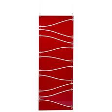 Separè Telaio Metacrilato Rosso Componenti D'arredo Design