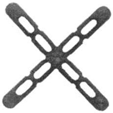 Crocette Distanziatdistanziatte 3mm Confezione Pz 250
