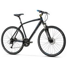 Bici Ibrida Lombardo Amantea 200 Uomo 28 Acera M3000 9v Nero Blu