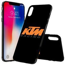 Ktm Motorcycle Logo Printed Hard Phone Case Skin Cover For Motorola Moto G6 Plus - 0002
