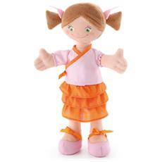 Bambola di pezza Mora con Codini 30cm. 64427