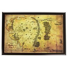 Mappa Della Terra Di Mezzo Lo Hobbit Signore Degli Anelli