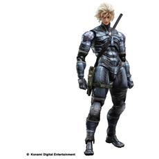 Figura Metal Gear Solid 2 Sons Of Liberty Play Arts Kai Action Figure Raiden 28 Cm Square Enix
