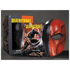 Maschera Dc Comics Replica Deathstroke Mask E Book Set