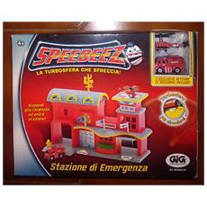 Speedeez - La Turbosfera Che Sfreccia - Stazione Di Emergenza - Playmates - Misb