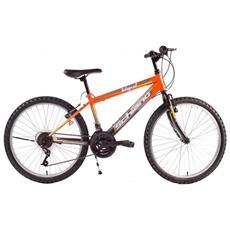 Bici Mtb Integral Uomo Forc. Rig. Shimano Arancio / nero 26'' F. lli Schiano