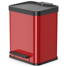 Pattumiera A Pedale Oko Uno Plus M 17 L Rossa 0619-240
