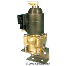 Elettrorubinetto per Tubo Oro Ottone 600 l / h 24 V 17.402.24