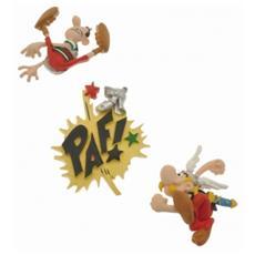 70023 - Asterix - Mini Calamita Asterix - Set 3 Pz