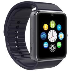 Smartwatch Gt08 Display 1.54'' 64GB Bluetooth Nero / Argento - Europa